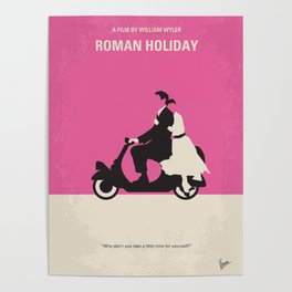 No205 My Roman Holiday mmp Poster