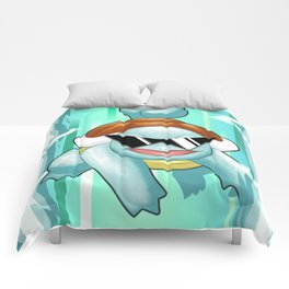 Squirtle Squad Comforters