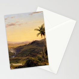 Cotopaxi - frederic edwin church Stationery Cards