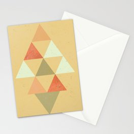 Being Mindful, Geometric Triangles Stationery Cards