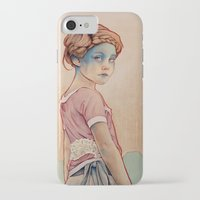 michael clifford iPhone & iPod Cases featuring Within White by Michael Shapcott
