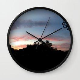 Austin Sunset Wall Clock