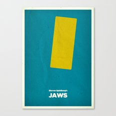 Steven Spielberg's JAWS Canvas Print