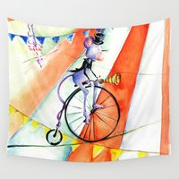 circus Wall Tapestries featuring Circus by LolMalone