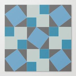 Pythagorean Pattern Canvas Print
