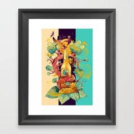 Natural Cycle Framed Art Print