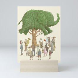 The Night Gardener - Elephant Tree Mini Art Print