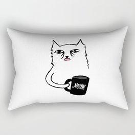 Tired Cat Rectangular Pillow