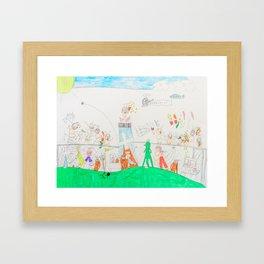 Kelly Bruneau #14 Framed Art Print