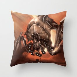Reaper Destroyer Throw Pillow