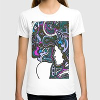 techno T-shirts featuring Purple Techno by Madison R. Leavelle