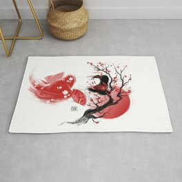 Red Geisha Rug