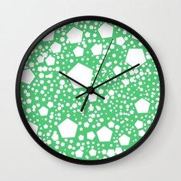 "Kalinka. ""Emerald"" color Wall Clock"
