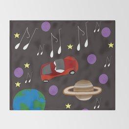 Awesome Ride, Starman Throw Blanket