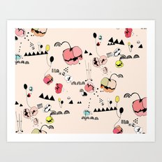 Poppies Print Art Print
