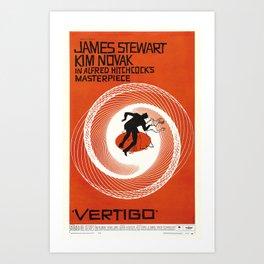 Vertigo - Movie Poster Art Print