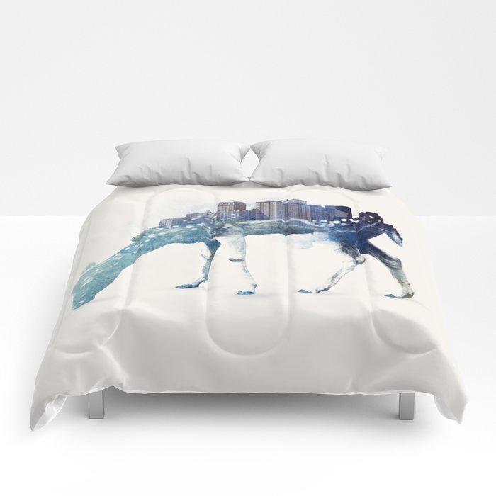 City Deer Comforters