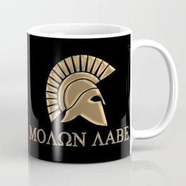 Molon lave-Spartan Warrior Coffee Mug