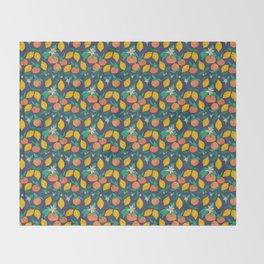 Citrus Throw Blanket