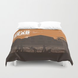 The Walking Dead Prison Walkers Duvet Cover