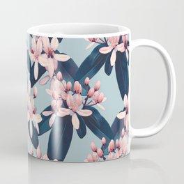 Galphimia in Prussian Blue Coffee Mug