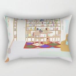 Devendra's room Rectangular Pillow