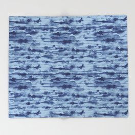 Stratus Denim Throw Blanket