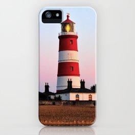 Happisburgh lighthouse shining iPhone Case