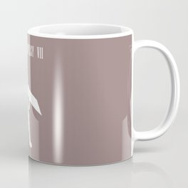 Cloud Strife Silhouette Minimal (White) - Final Fantasy VII Coffee Mug