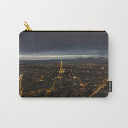 Paris Lights Night View Carry-All Pouch