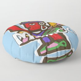 Mexico Aztec or Mayan Travel Floor Pillow