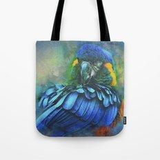 Macaw Magic Tote Bag