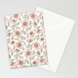 Bohemian Farmhouse Florals Stationery Cards
