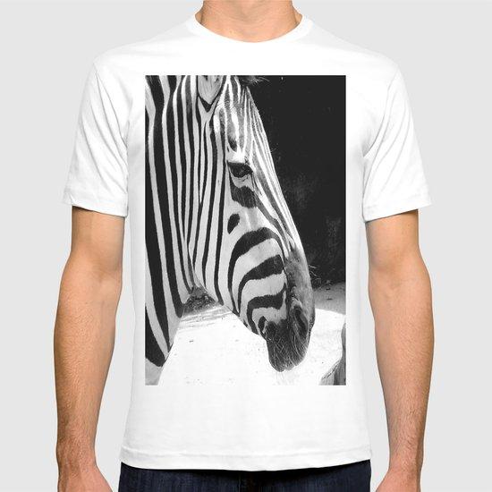 b&w zebra T-shirt