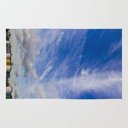 Dramatic sky London Rug