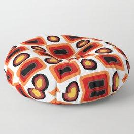 1970s africolor Floor Pillow