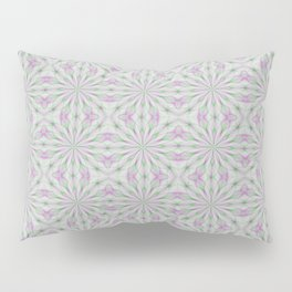 Rosettes in Purple and Green Pillow Sham