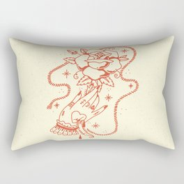 Bellas y Fuertes Rectangular Pillow