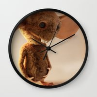 rat Wall Clocks featuring Rat by timecore
