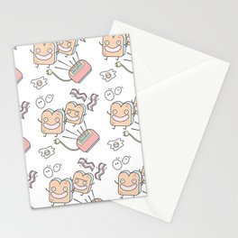 It's Breakfast Time! Stationery Cards