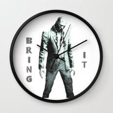 Bring It Wall Clock