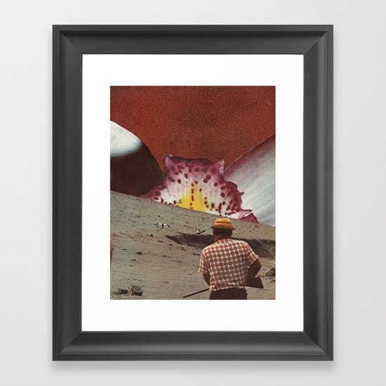 hunter and the hunted Framed Art Print