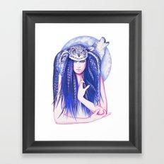 Medicine Woman Framed Art Print