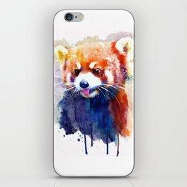Red Panda Portrait iPhone Skin