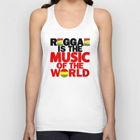 reggae Tank Tops featuring Reggae Music by Ahfimi Brands