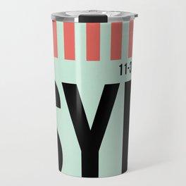 SYD Sydney Luggage Tag 1 Travel Mug