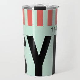SYD Sydney Luggage Tag 1 Travel Mug