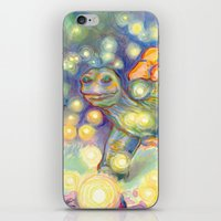 tortoise iPhone & iPod Skins featuring Tortoise by Gregery Miller
