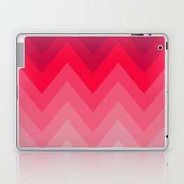 PINK OMBRÉ CHEVRON Laptop & iPad Skin