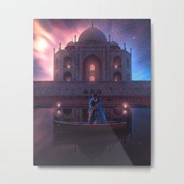 Aladin Recreation Metal Print